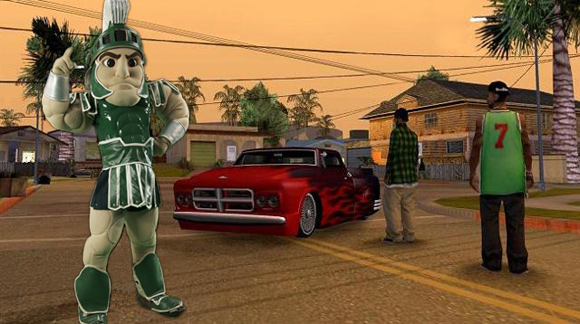 SPARTY THEFT AUTO