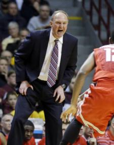 Thad Matta's blood pressure has been high for two weeks.