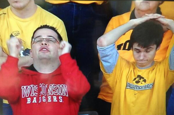 """Praise the lord, Bret Bielema is gone!"" ""He'll always be a Hawkeye, SMDH"""
