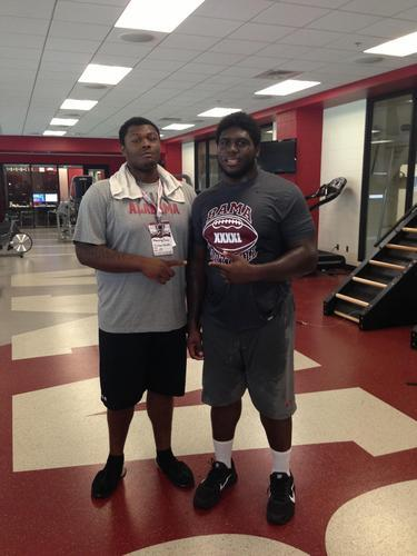 Marcelys Jones and Chance Warmack