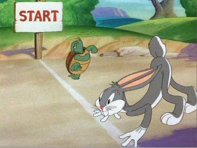 Bugs Bunny Vs Turtle Race