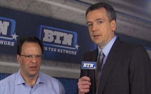 """Tom, did you still find time to cut down the nets, even though you didn't even make the NIT?"""
