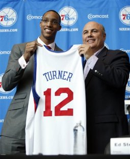 Turner was the 2nd pick of the 2010 NBA Draft behind John Wall