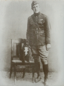 Lt. Fred Norton earned a Distinguished Service Cross in 1918