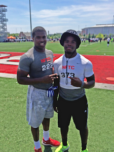 Justin Hilliard and Damien Harris