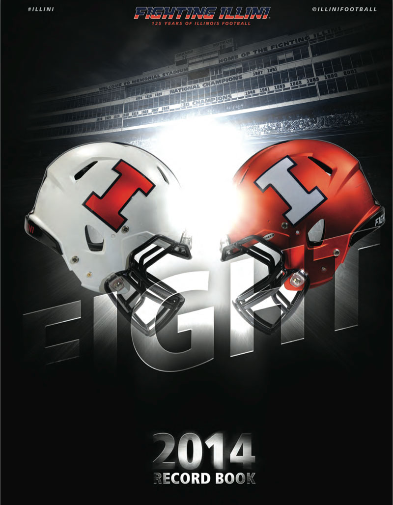 2014 Illinois Football Media Guide