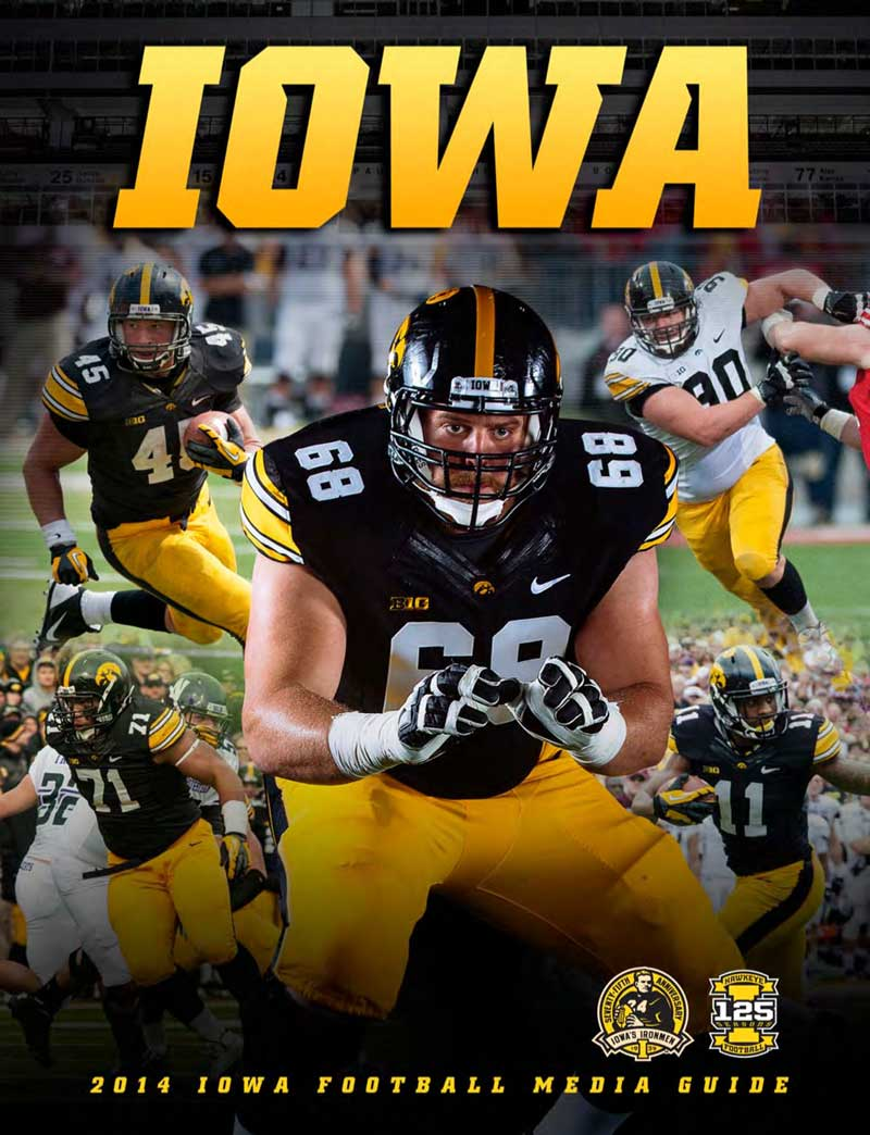2014 Iowa Football Media Guide