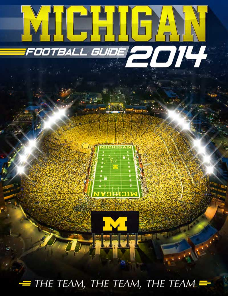 2014 Michigan Football Media Guide