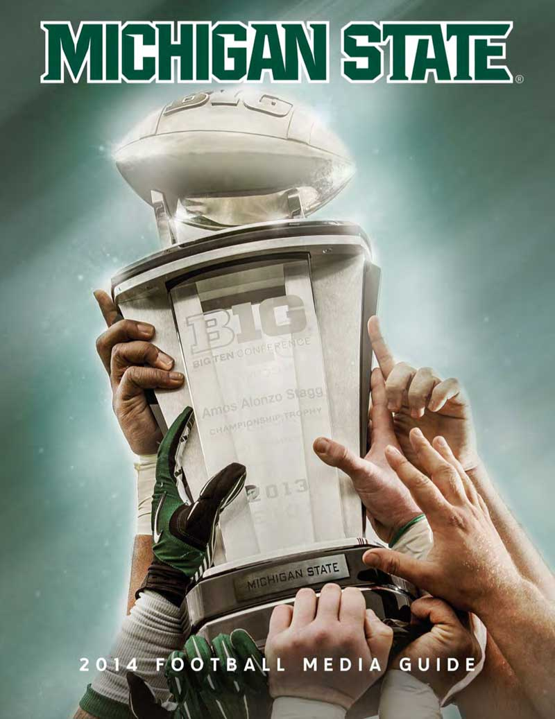 2014 Michigan State Football Media Guide