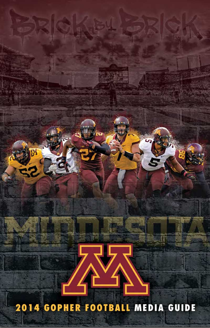 2014 Minnesota Football Media Guide