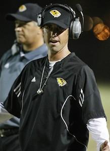 Jason Mohns of Saguaro High School