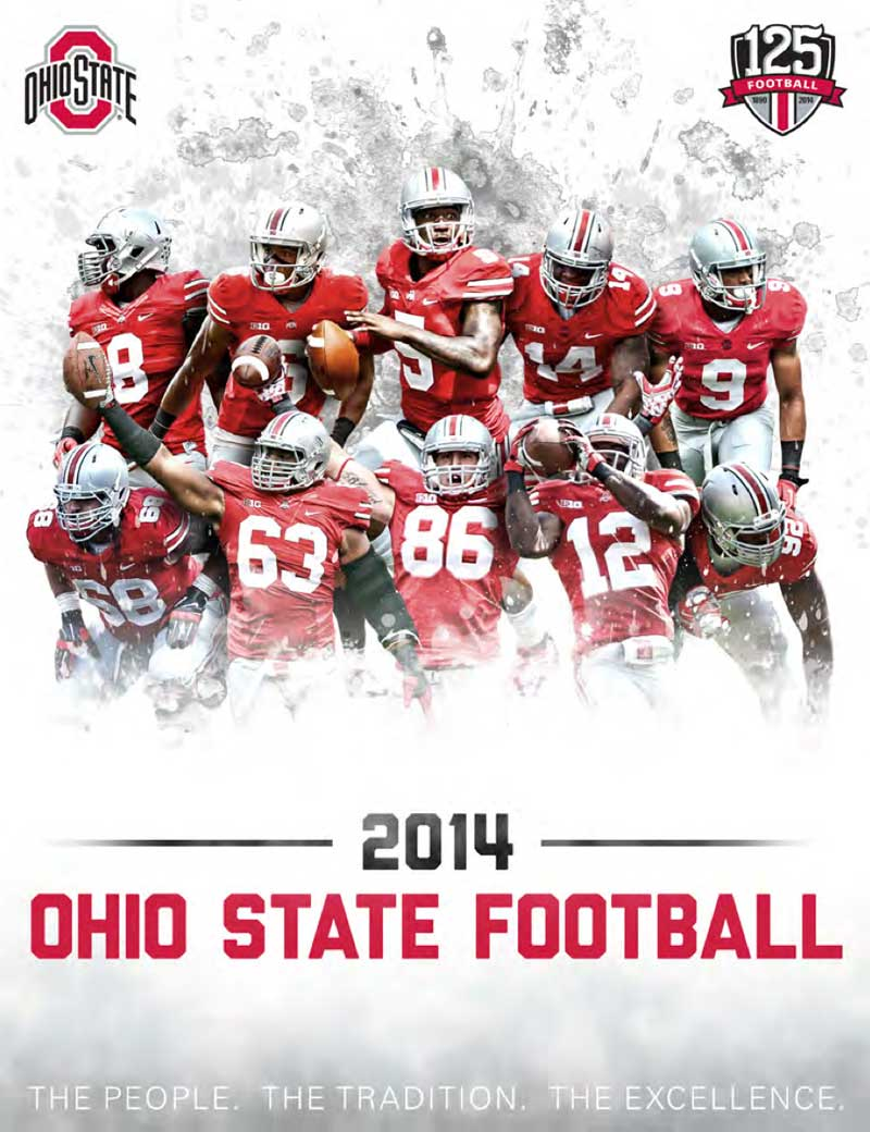 2014 Ohio State Football Media Guide