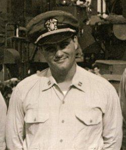 Woody was Lieutenant Commander of the USS Rinehart