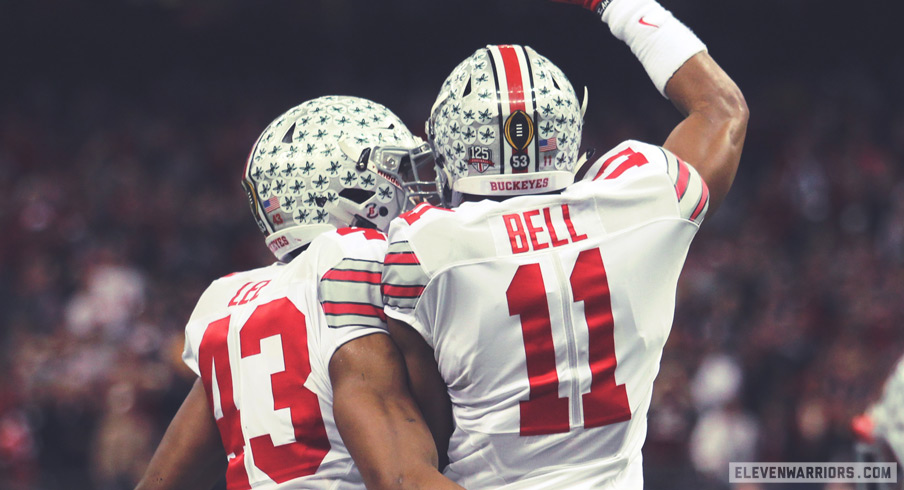 Darron Lee and Vonn Bell: A pair of future all-americans.