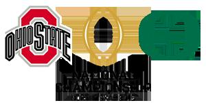No. 4 Ohio State Buckeyes vs. No. 2 Oregon Ducks