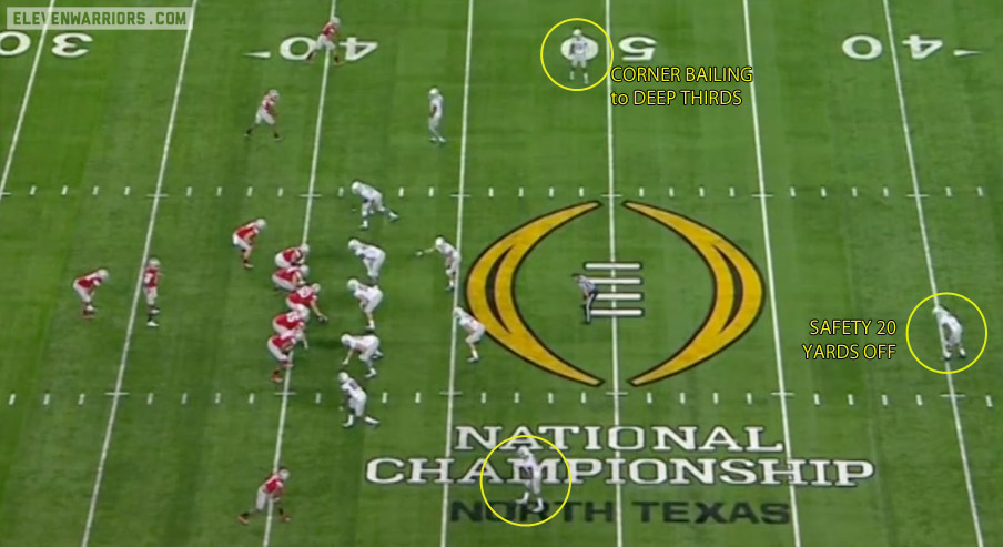 Oregon's secondary feared Ohio State's deep passing attack.