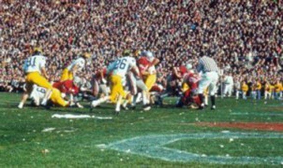 ohio state vs michigan 1968