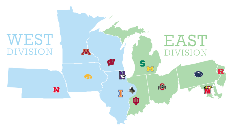 big ten likely to change its divisions at some point soon mgoblog