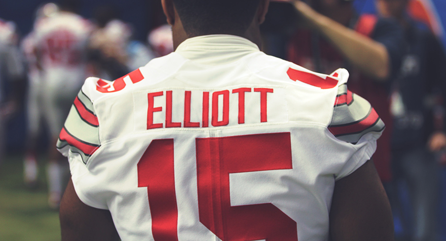 save off 115b3 84f0a Ohio State Star Running Back Ezekiel Elliott Files For Five ...