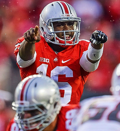 J.T. Barrett is pointing at you haters