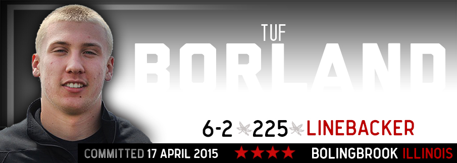 Ohio State commitment Tuf Borland