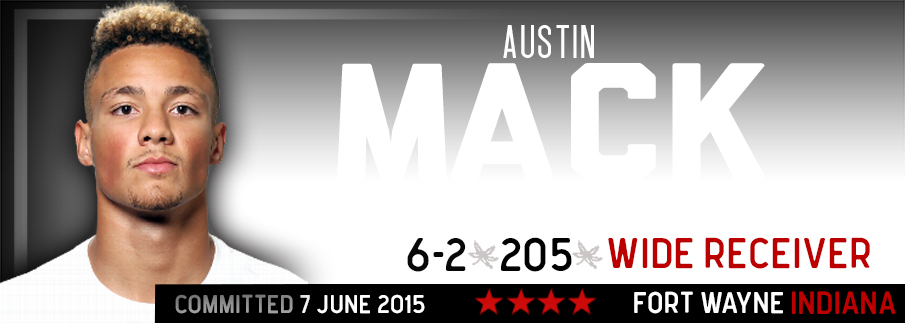 Ohio State commitment Austin Mack