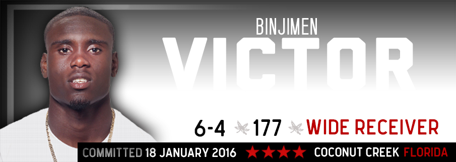 Ohio State commitment Binjimen Victor