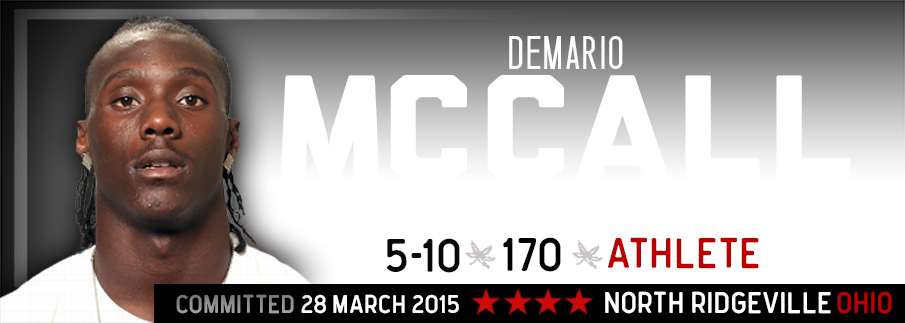Ohio State commitment Demario McCall