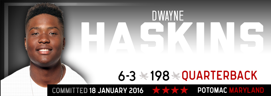 Ohio State commitment Dwayne Haskins