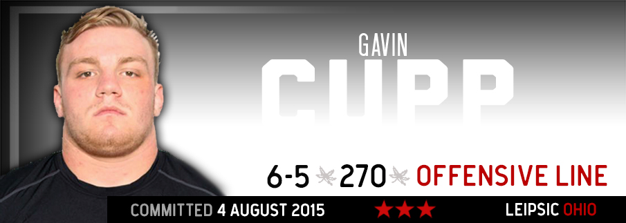 Ohio State commitment Gavin Cupp