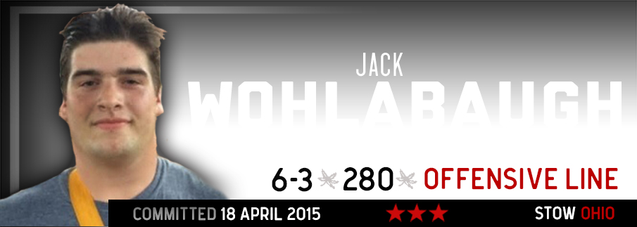 Ohio State commitment Jack Wohlabaugh