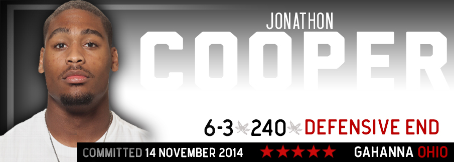Ohio State commitment Jonathon Cooper
