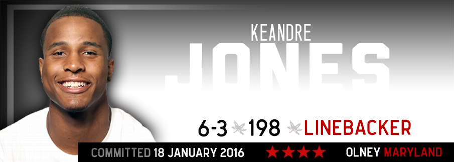 Ohio State commitment Keandre Jones
