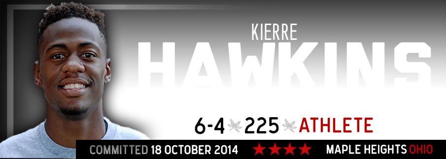 Ohio State commitment Kierre Hawkins