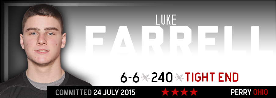 Ohio State commitment Luke Farrell