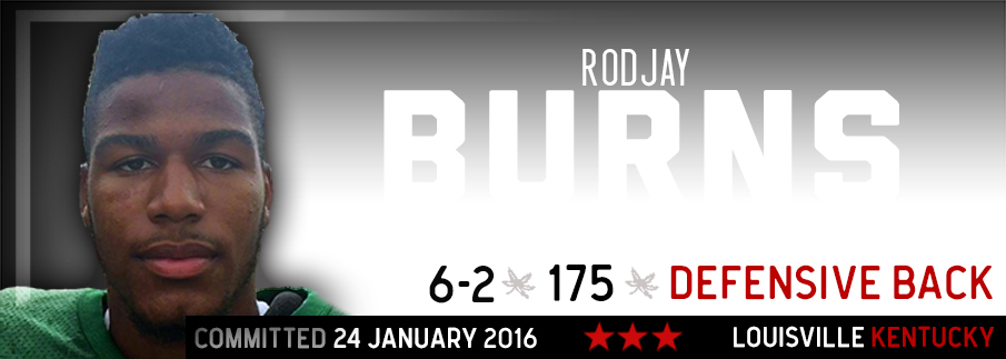 Ohio State commitment Rodjay Burns