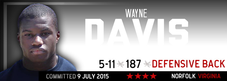 Ohio State commitment Wayne Davis