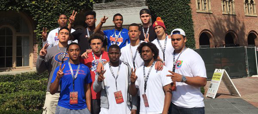 Bishop Gorman group at USC
