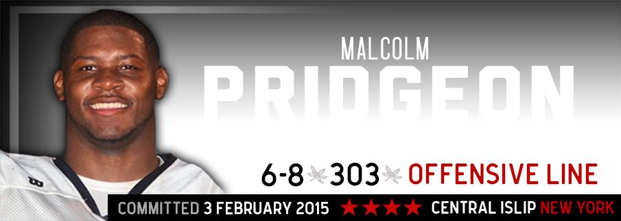 Ohio State signee Malcolm Pridgeon