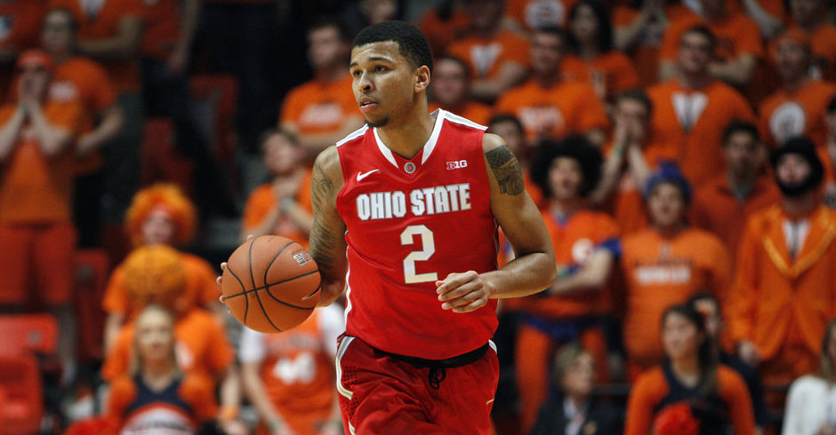 Marc Loving will be Ohio State's lone senior in 2016-17.