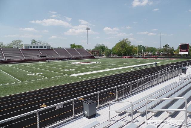 Maple Heights High School football field
