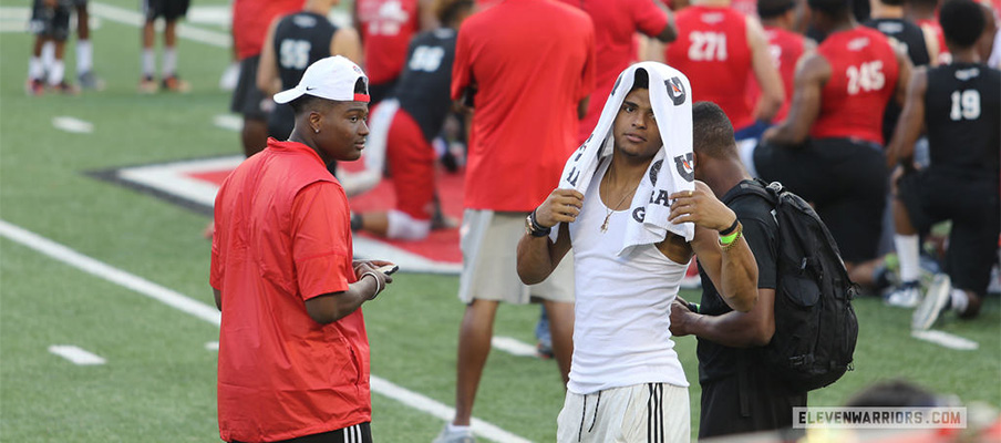 Grimes and Haskins at FNL.