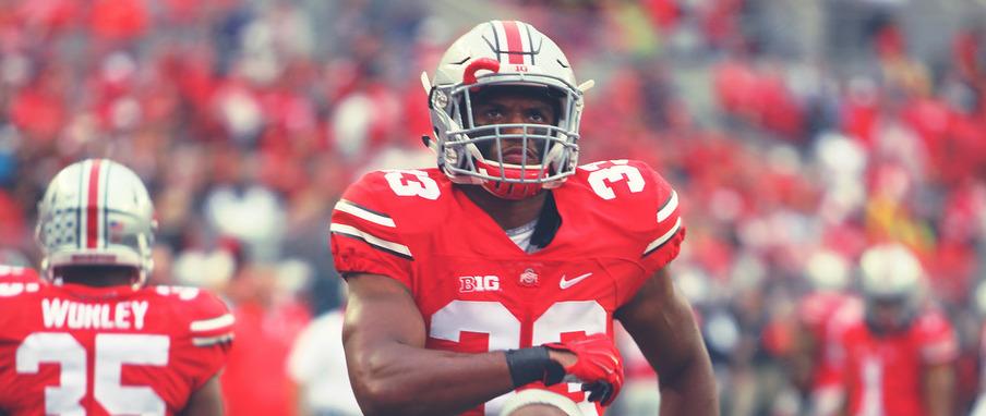 Ohio State linebacker Dante Booker