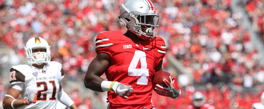 Curtis Samuel went for 261 yards and three scores. He's just scratching the surface.