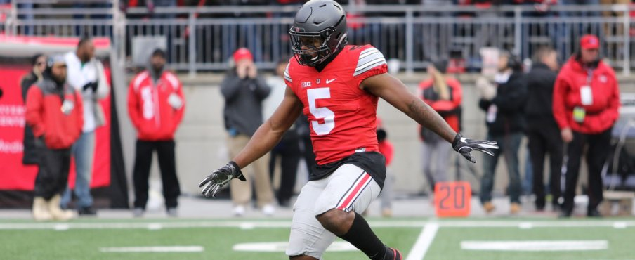 Raekwon McMillan was all over the field registering 16 tackles and a tipped pass leading to a Malik Hooker pick six.