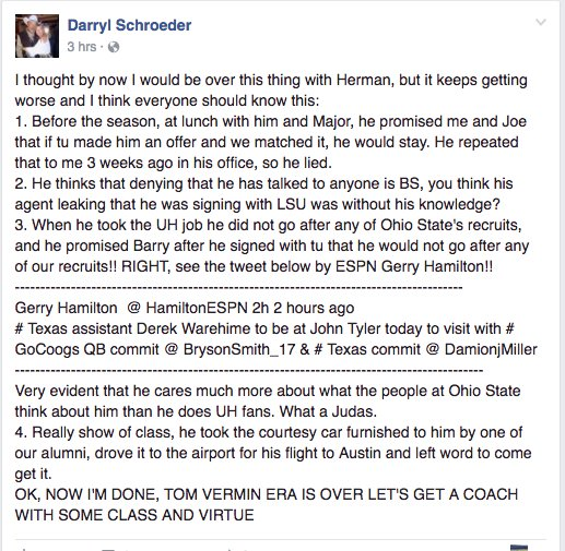 Darryl Schoeder, Facebook user.