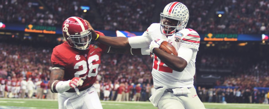 Cardale Jones didn't prefer to run but wasn't afraid to dish out punishment when called upon.