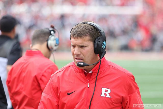 Rutgers head coach Chris Ash