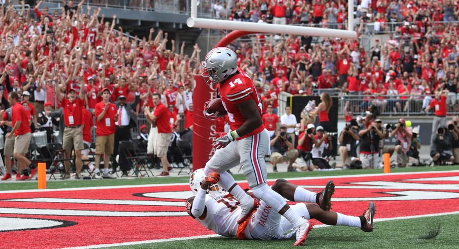 Ohio State wide receiver K.J. Hill