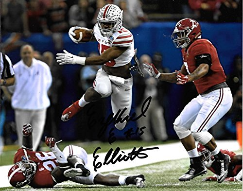 reputable site 4b0b3 6c533 Buyer Beware: Ezekiel Elliott Merchandise Signed by Not ...